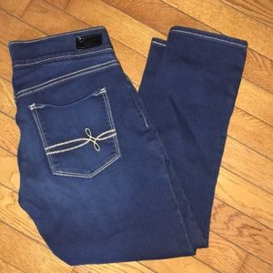 Levi's Denizen Modern Pull-On Crop Jeans Size 8